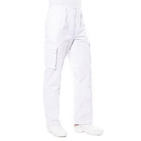 Pantalon ambulancier blanc prixu