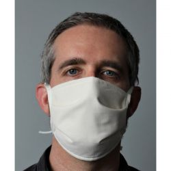 Masque en tissu avec lien...