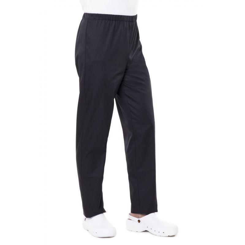 Pantalon de cuisine noir pliki