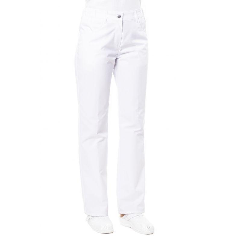 Pantalon médical femme patsy blanc