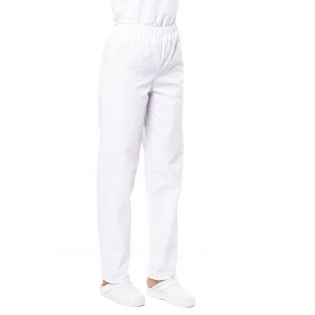 Pantalon médical mixte pliki blanc