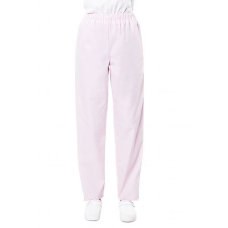Pantalon médical mixte pliki rose