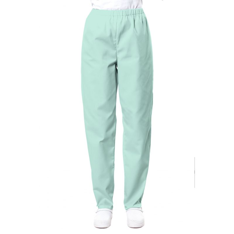 Pantalon médical mixte pliki vert aqua