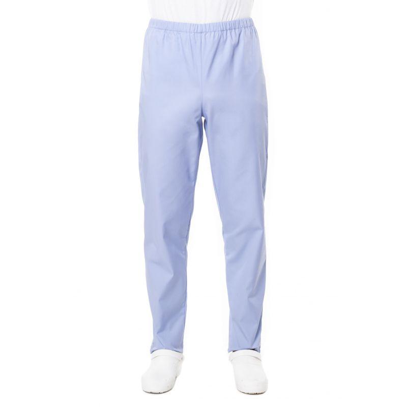 Pantalon médical mixte pliki bleu ciel
