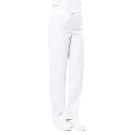 Pantalon médical mixte blanc priva