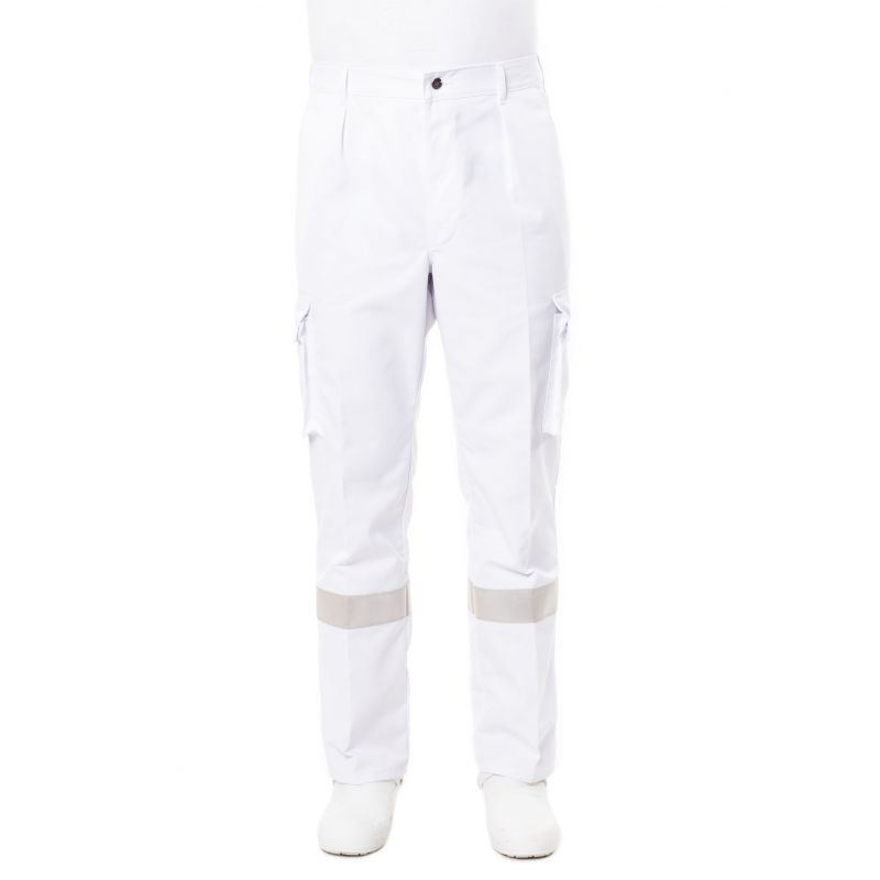 Pantalon ambulancier prixu blanc