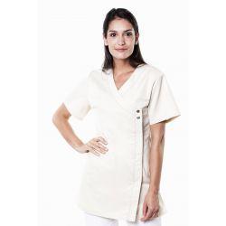 Tunique médicale femme margo écru