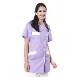 Tunique médicale femme tagia lilas
