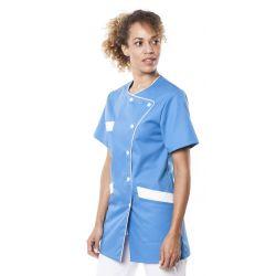 Tunique médicale femme tagia bleu