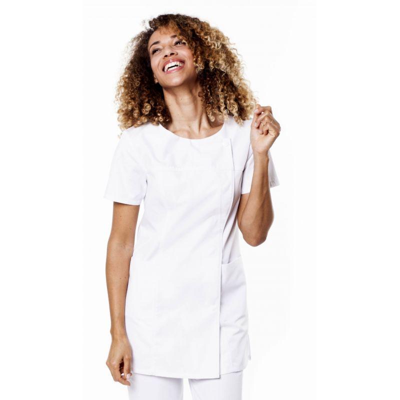 Tunique médicale femme tamil blanche