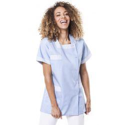 Tunique médicale femme tilly ciel