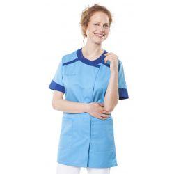 Tunique médicale femme twita bleu