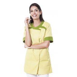 Tunique médicale femme twita vert anis