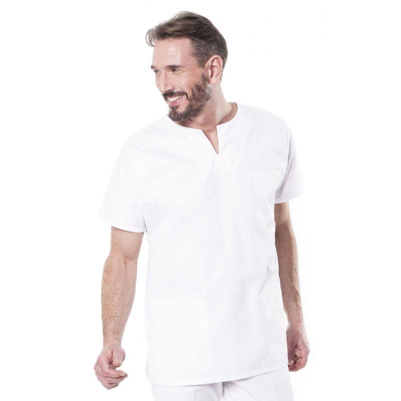 Tunique médicale mixte tadou blanc