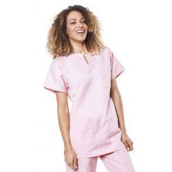 Tunique médicale mixte tadou rose