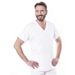 Tunique médicale mixte Tivio - blanc