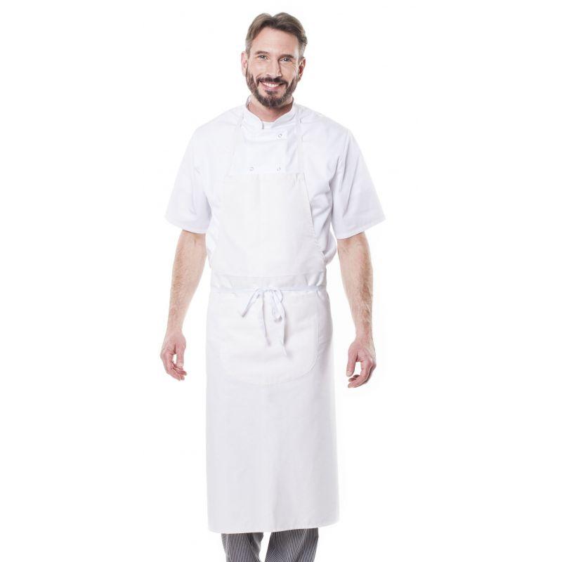 Tablier de cuisine avec bavette glavi - 100% coton