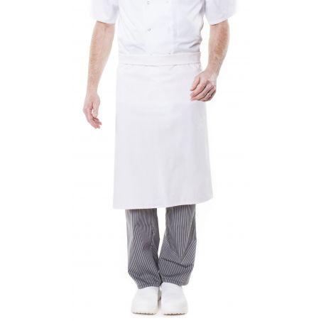 Tablier de cuisine sans bavette glika - 100% coton