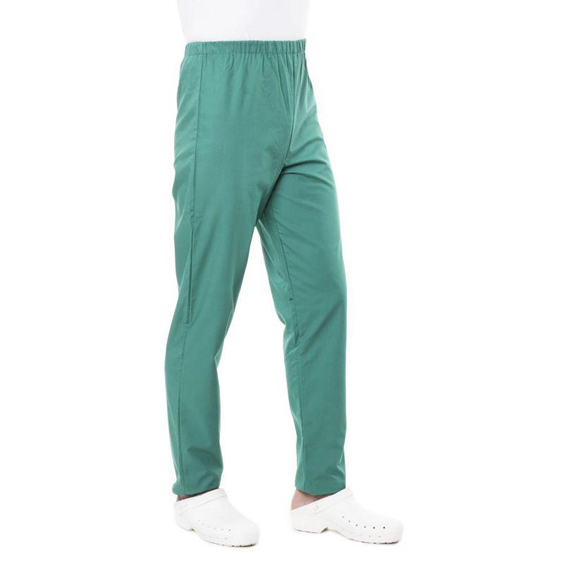 Pantalon médical mixte pliki vert opératoire