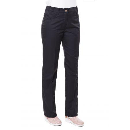 Pantalon de cuisine noir patsy