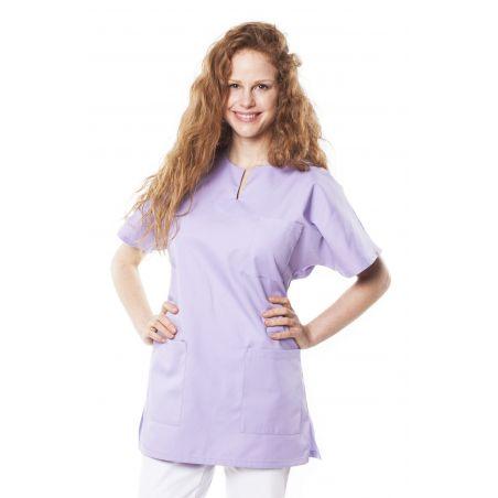 Tunique médicale mixte tadou lilas