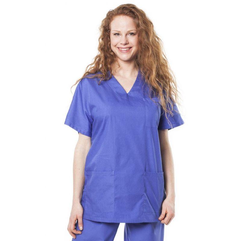Tunique médicale mixte tivio bleu opératoire