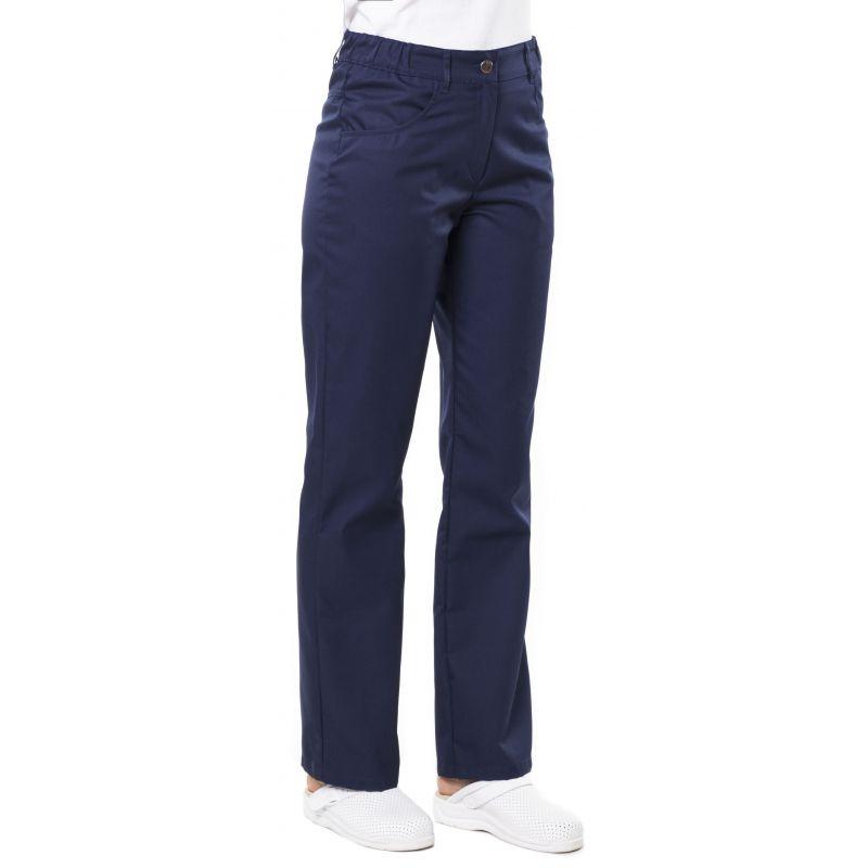 Pantalon médical femme patsy bleu encre