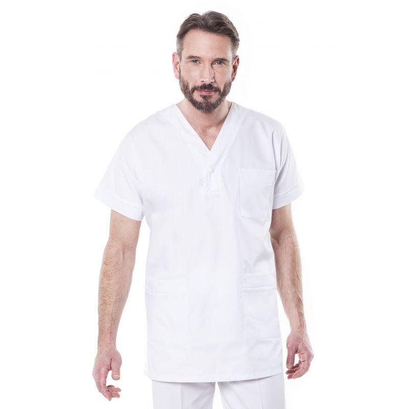 Tunique médicale mixte trimo blanc