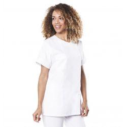 Tunique médicale femme blanche traxa