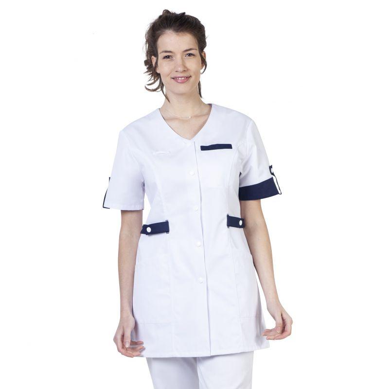 Tunique médicale femme Manon bleu