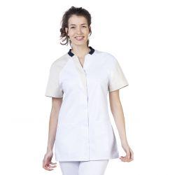 Tunique médicale femme Maude tan