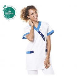 Tunique médicale femme Timbi tencel bleu