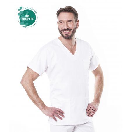 Tunique médicale mixte tencel tivio