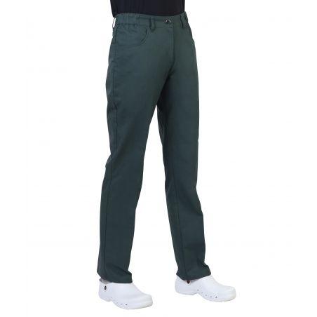 Pantalon médical femme patsy vert