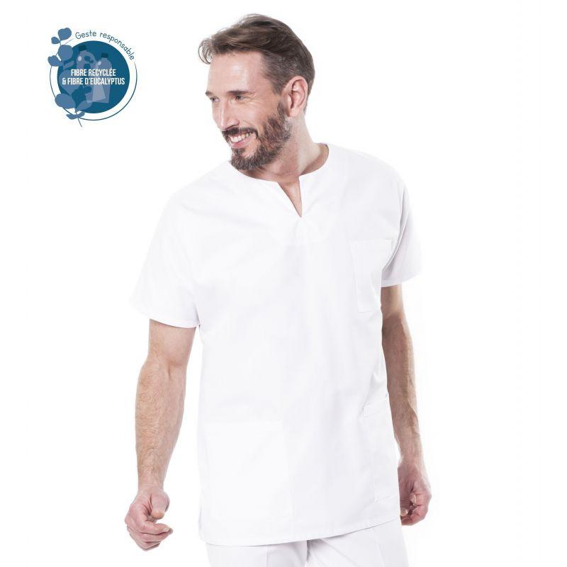 Tunique médicale homme Tadou écogreen