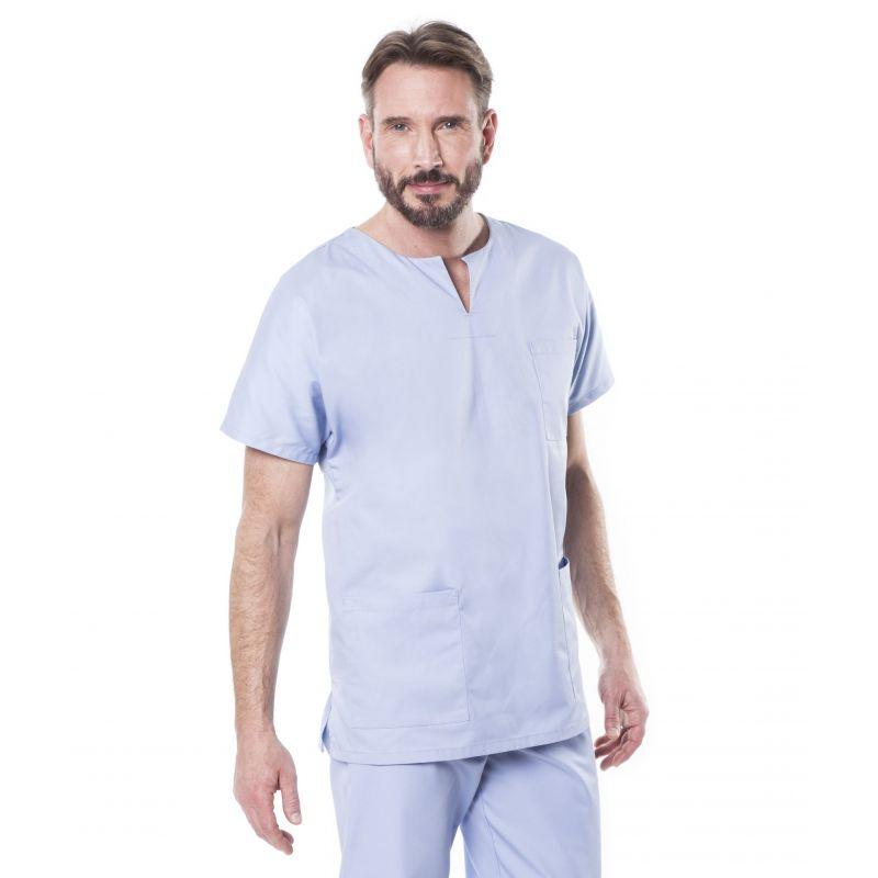 Tunique médicale mixte tadou bleu