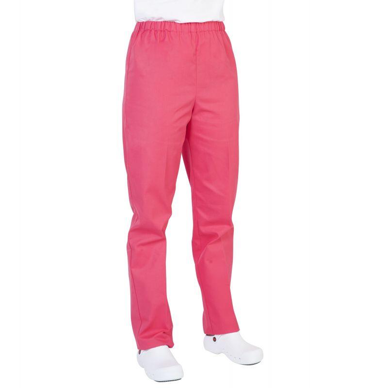 Pantalon médical mixte pliki fuchsia