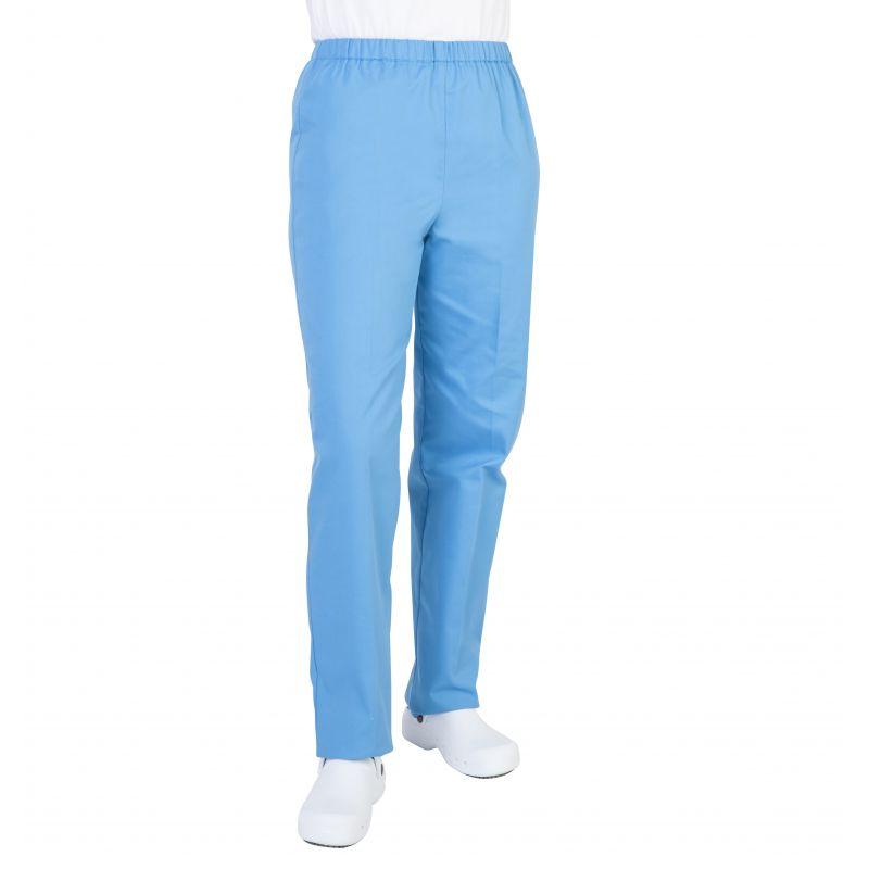 Pantalon médical mixte pliki bleu turquoise