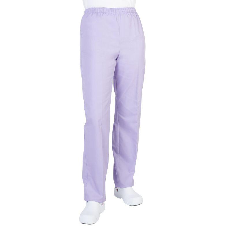 Pantalon médical mixte pliki lilas
