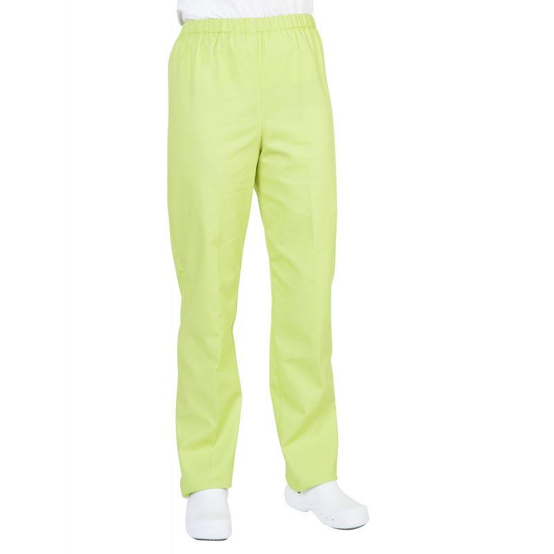 Pantalon médical mixte pliki vert anis