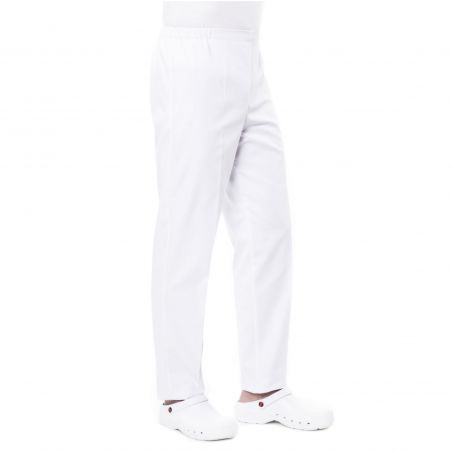Pantalon médical femme prixi blanc