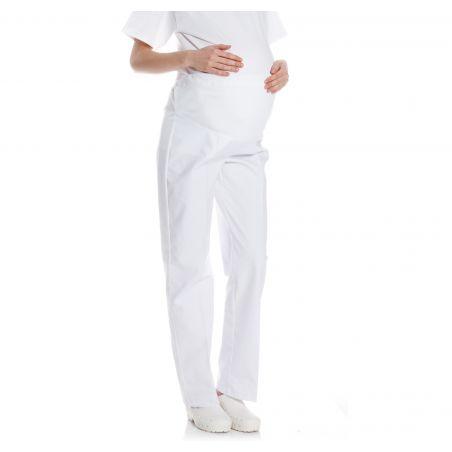 Pantalon médical de grossesse pomme