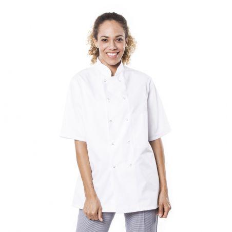 Veste de cuisine manches courtes mixte trizi