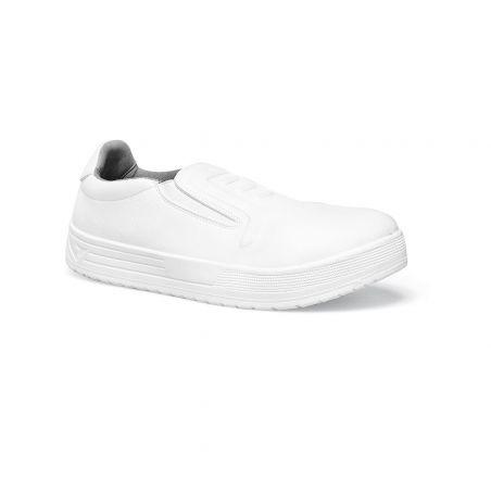 Chaussure de sécurité cuisine blanc remix